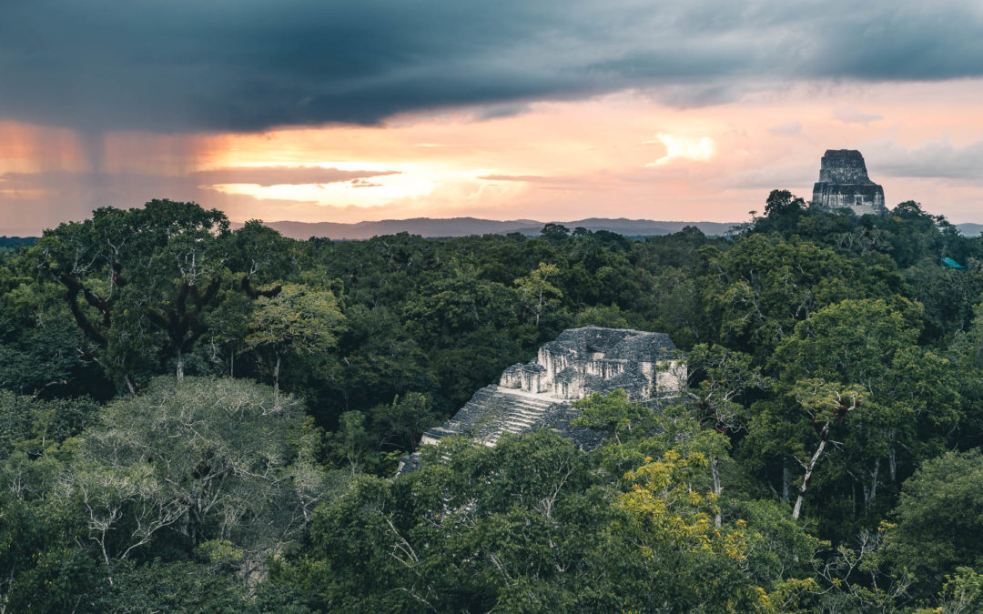 ABOUT MAYANS AND RUINS